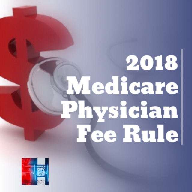CMS Publishes 2018 Physician Fee Schedule Rule