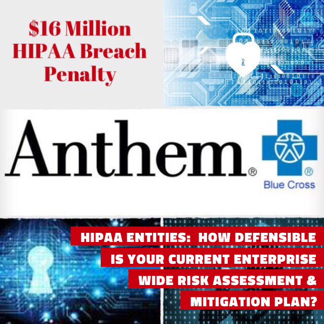 Record $16M HIPAA Sanction Shows Need For Current Enterprise Risk Assessment; ONC/OCR Share New Tool To Help HIPAA Covered Entities Comply