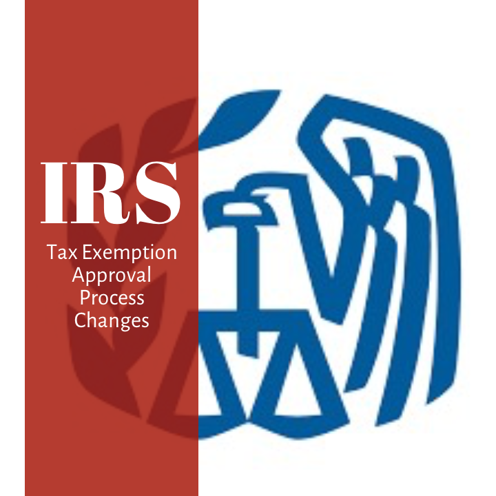 Tax Exemption Determination Procedures Changing