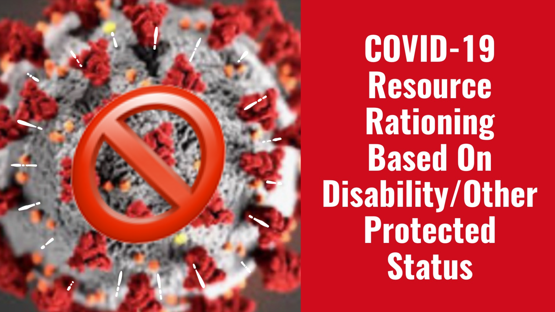 Pennsylvania OCR Settlement Warns Others Against Disability Or Other Civil Rights Discrimination In COVID-19 Resource Allocation & Other Response