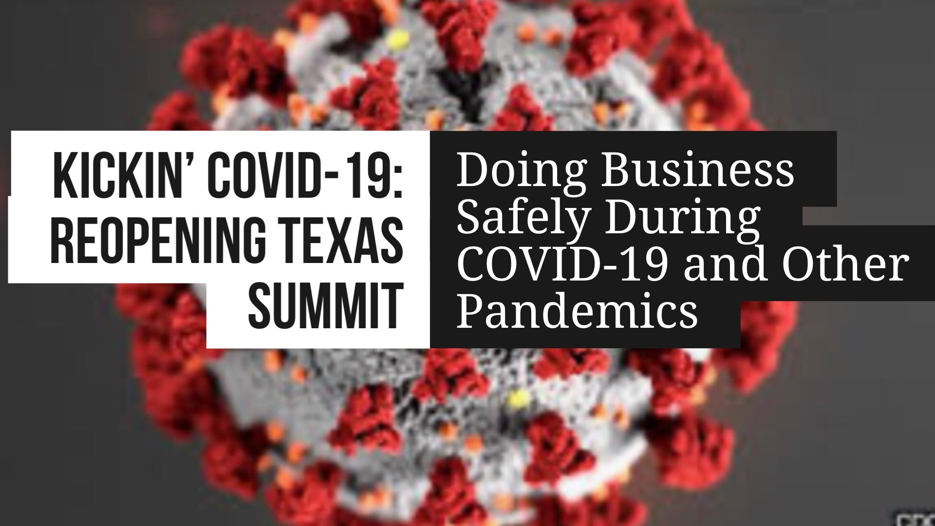 Participate In October 8 Free Kickin' COVID-19: Reopening Texas Summit On Facebook Live